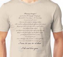 To A Stranger Unisex T-Shirt