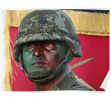 Soldier - Militar Poster