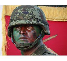 Soldier - Militar Photographic Print