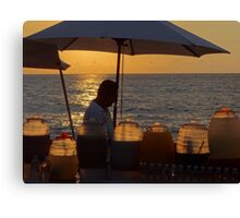 Juices In Tropical Light - Jugos En Luz Tropical Canvas Print