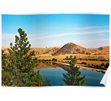 The Flathead River near Perma Poster