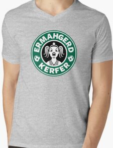 ERMAHGERD, KERFER! Mens V-Neck T-Shirt