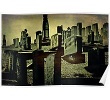 Rest in Peace, Greenwood Cemetery, Atlanta, Georgia Poster