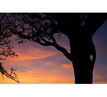 Pil Tor Sunset Photographic Print