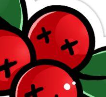 Evil Mistltoe Sticker