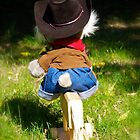 And The Cowboy Rides Away ..................... by Jeannie  Mazur