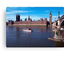 House of Parliament , London, England Canvas Print