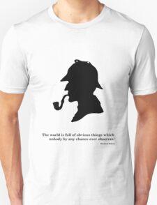 Sherlock the detective Unisex T-Shirt