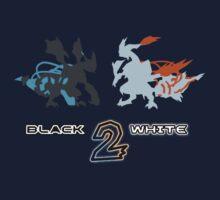 Pokemon Black and White 2 Kids Tee
