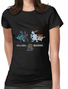 Pokemon Black and White 2 Womens Fitted T-Shirt