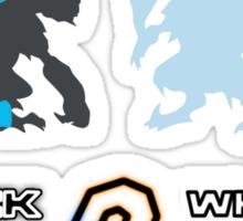 Pokemon Black and White 2 Sticker
