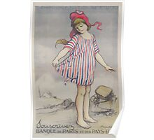 Emprunt National 1920 Souscrivez Banque de Paris et des Pays Bas Poster