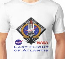 Last Flight of Atlantis (OV-104) and the Shuttle Program Unisex T-Shirt