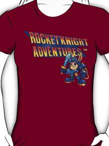Rocket Knight Adventures (big print) T-Shirt