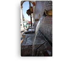 Water from the Mountains above Alcaucin Canvas Print