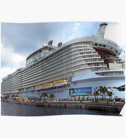 Allure of the Seas - Nassau, Bahamas  Poster
