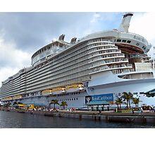 Allure of the Seas - Nassau, Bahamas  Photographic Print