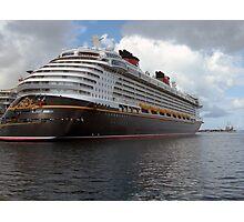 The Disney Dream Nassau, Bahamas  Photographic Print
