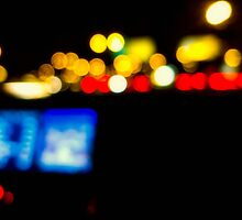 Brights Lights At Night by susan stone