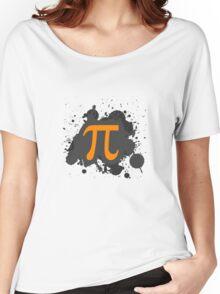 Pi Splatter! Women's Relaxed Fit T-Shirt
