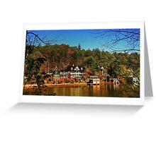Georgia Mountains Panorama Greeting Card