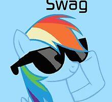 Rainbow Dash Swag by DerpyDash101