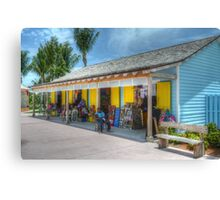 Pompey Market Place in Nassau, The Bahamas Canvas Print