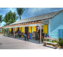 Pompey Market Place in Nassau, The Bahamas Photographic Print