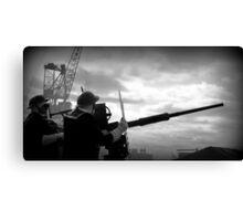 Dockyard Defence  Canvas Print