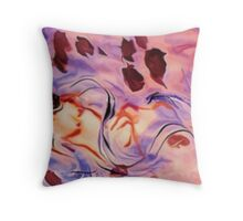 Is this a dream?  , watercolor Throw Pillow