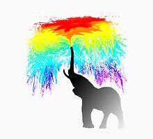 Elephant Rainbow Unisex T-Shirt