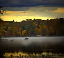 fall morn' on the chippiwa by StoneAge
