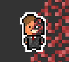 Pixel Harvey Dent / Two Face (The Dark Knight Trilogy) by PixelBlock