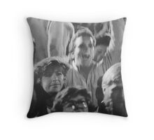who invited that guy? Throw Pillow