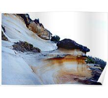 white cliffs Poster