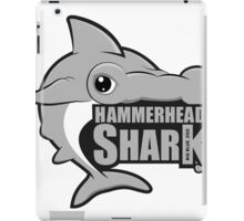 Shark. Silver Hammerhead Shark iPad Case/Skin