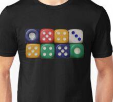 Multicoloured Die Unisex T-Shirt