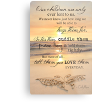 They Are Only Lent To Us Metal Print