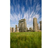 Stone Henge - Wiltshire, England Photographic Print