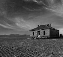 Burra Ruin, B&W by pablosvista2