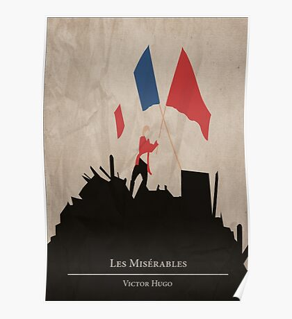 Les Miserable - Victor Hugo Poster