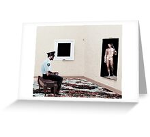 Arresting from The Watchman's Loneliness series Greeting Card