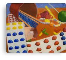 Childhood Candy Canvas Print
