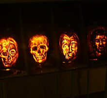 Scary Pumpkin Faces, The Great Jack O'Lantern Blaze  by Jane Neill-Hancock
