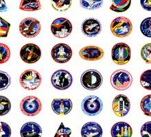 Shuttle Program Tribute Sticker