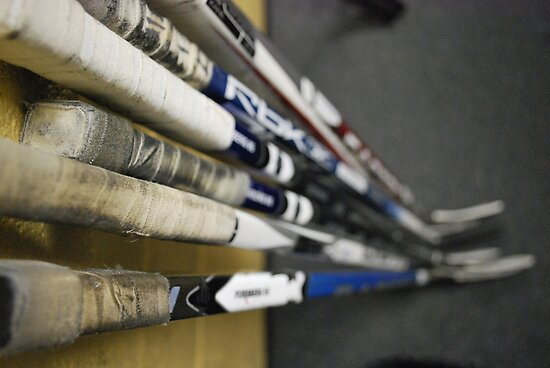 Hockey Sticks by Kreardon