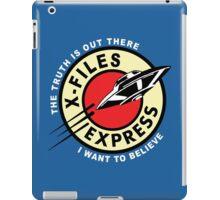 X-Files Express iPad Case/Skin