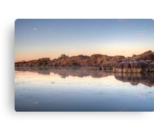 Granite Crawl Canvas Print
