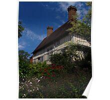 Tudor Manor House Poster