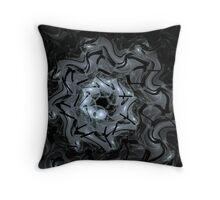 Night spin Throw Pillow